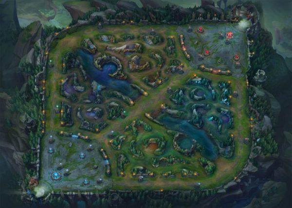 league of legends map photo